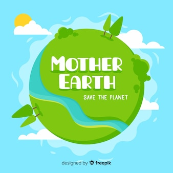 Mieszkanie macierzysty ziemskiego dnia tło