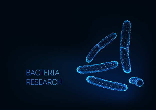 Mikroskopijne bakterie bakteryjne acidophilus, salmonella, lactobacillus. probiotyki.