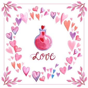 Miłość eliksiru w tle