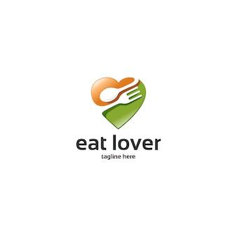 Miłość jedz logo