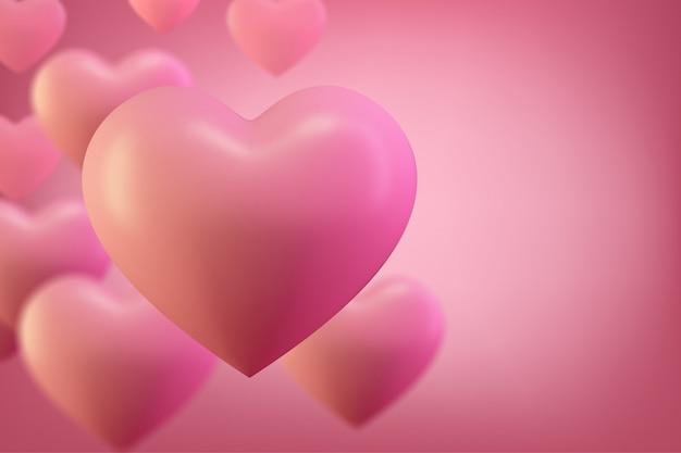 Miłość serce tło. valentine