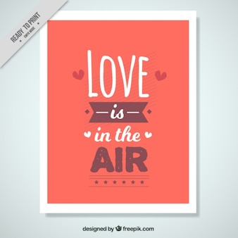 Miłość wisi w powietrzu karty