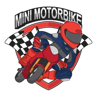 Mini wyścigowy projekt motocykla