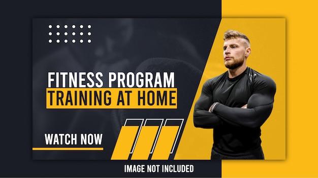 Miniatura youtube dla trenera fitness