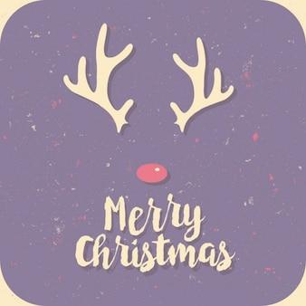 Minimal christmas jelenie