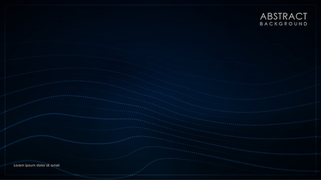 Minimalistyczne ciemnoniebieskie tło