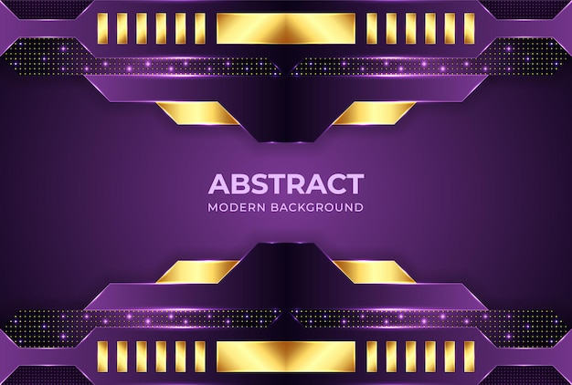 Minimalistyczne fioletowe tło gradientowe z abstrakcyjnymi kształtami nowoczesne tła