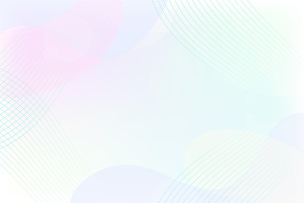 Minimalistyczne tło z organicznymi kształtami