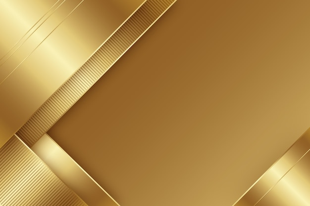 Minimalistyczne złote luksusowe tło