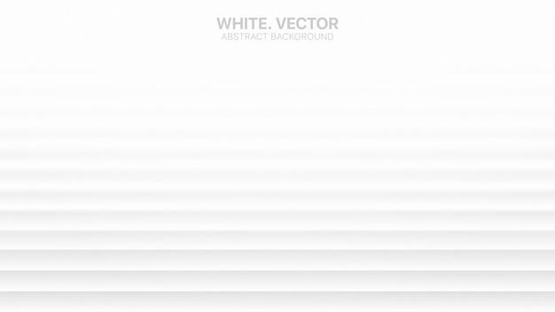Minimalistyczny biały streszczenie tło 3d niewyraźne struktury