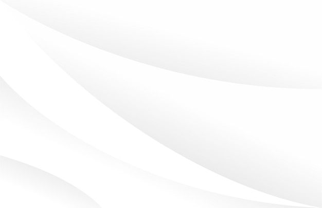 Minimalistyczny czysty falisty biały wzór tła background