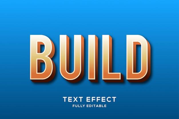 Minimalistyczny efekt pogrubienia tekstu