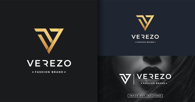 Minimalistyczny początkowy szablon projektu logo v