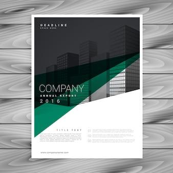 Minimalistyczny projekt streszczenie szablon broszura firmy