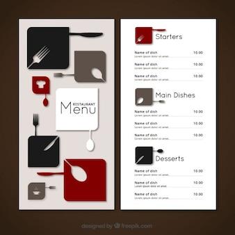 Minimalistyczny święta menu