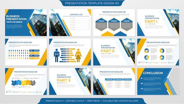 Minimalistyczny szablon prezentacji korporacyjnej