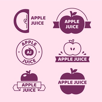 Minimalna kolekcja logo w dwóch kolorach