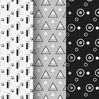 Minimalna paczka wzorów geometrycznych