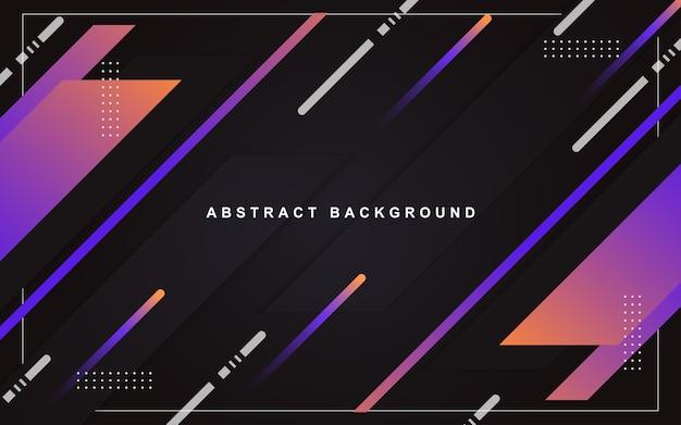 Minimalne geometryczne abstrakcyjne tło i-element paska gradientu