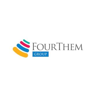 Minimalne logo grupy firm