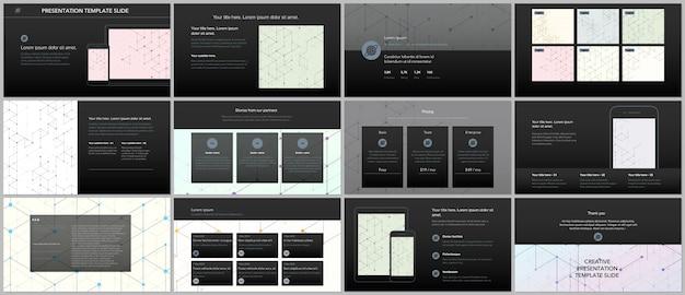 Minimalne prezentacje i szablony portfolio