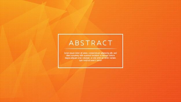 Minimalny abstrakcjonistyczny trójgraniasty tło