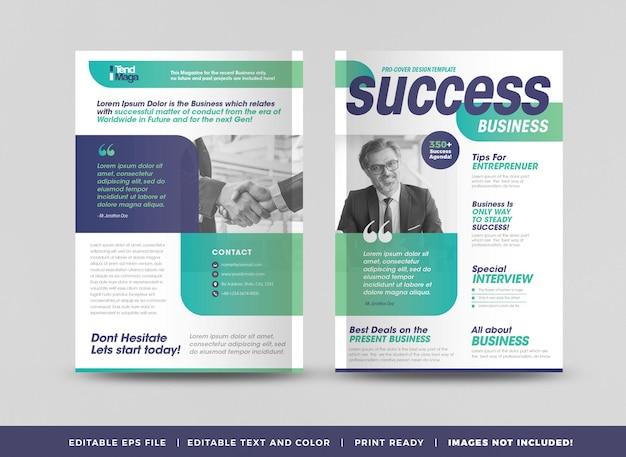 Minimalny projekt okładki magazynu lub układ redakcyjny lookbook lub wielofunkcyjna okładka portfolio