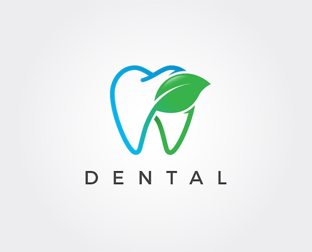 Minimalny szablon logo dentystycznego