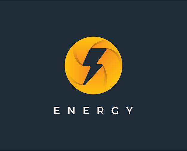 Minimalny szablon logo elektrycznego