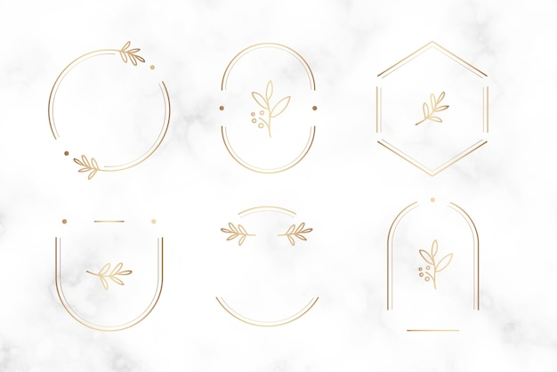 Minimalny wzór odznaki botanicznej