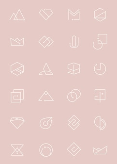 Minimalny zestaw logo