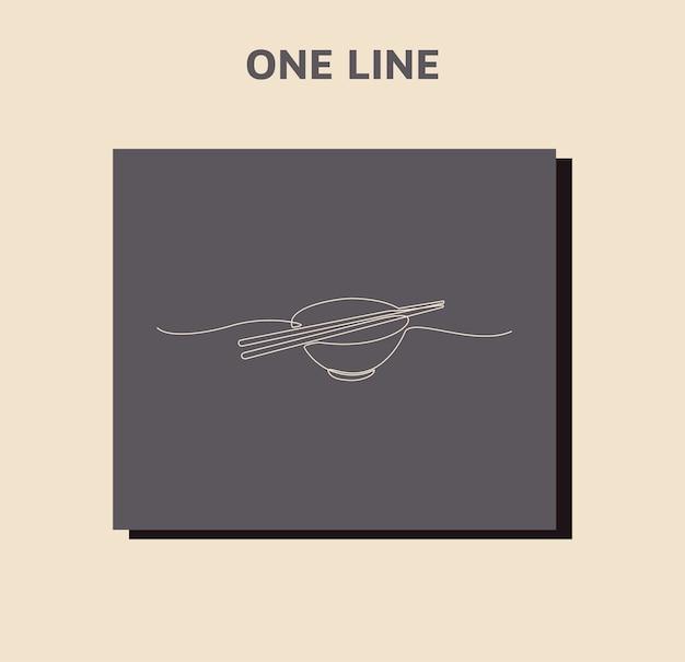 Miska do ciągłego rysowania linii z parą izolowanych pałeczek