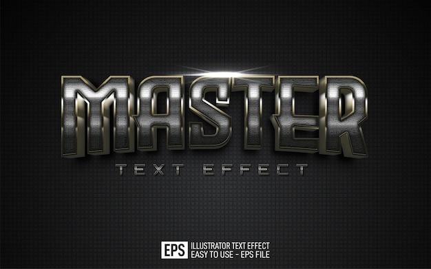 Mistrz efektów tekstowych, edytowalny szablon efektu stylu
