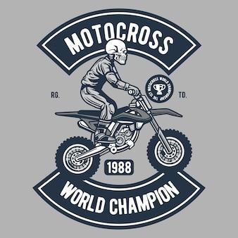 Mistrz świata motocross