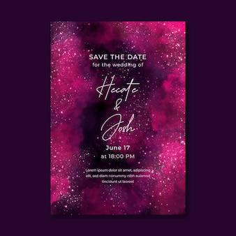 Mistyczne zaproszenie na ślub