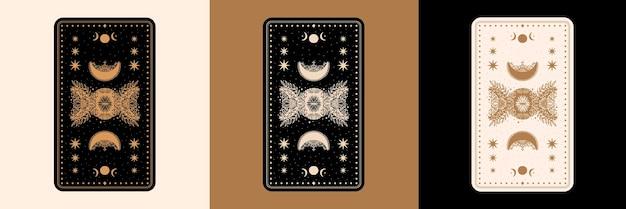 Mistyczny zestaw kart tarota na biurko