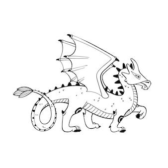 Mitologiczny smok zwierzęcy