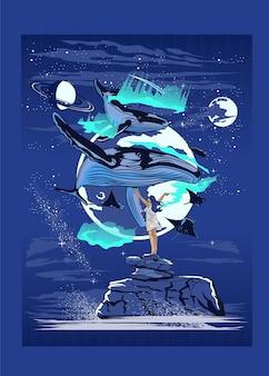 Mityczny wieloryb