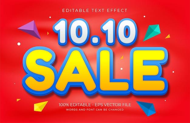 Mivies efekt tekstowy online premium wektor