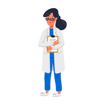 Młoda kobieta lekarz md