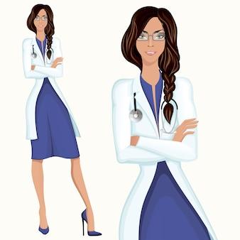 Młoda kobieta lekarz