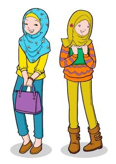 Młoda muzułmańska dziewczyna