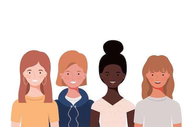 Młode kobiety