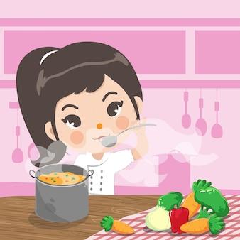 Młody kucharz
