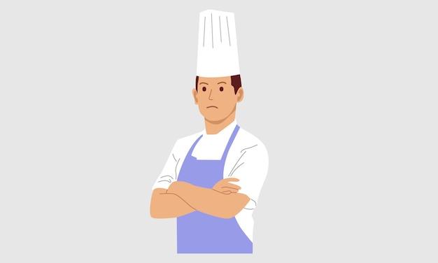 Młodzi profesjonalni kucharze