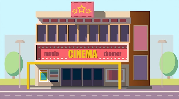 Mobilny budynek teatru