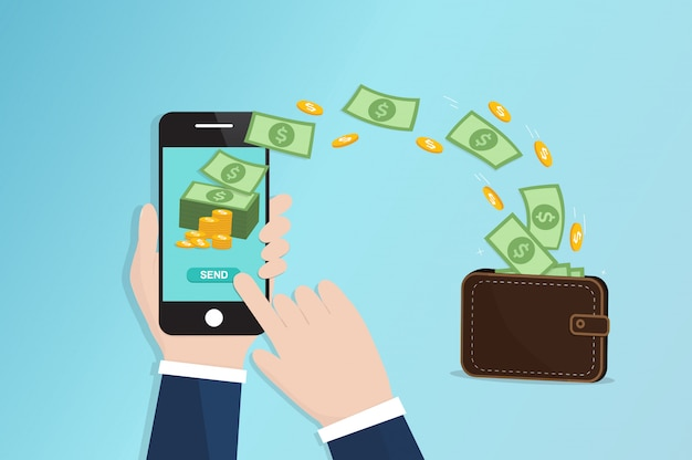 Mobilny przelew pieniędzy