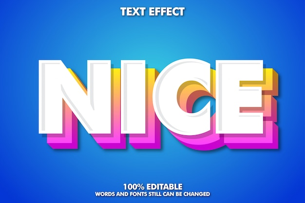 Mocny odważny nowoczesny efekt czcionki, fantazyjny styl tekstu