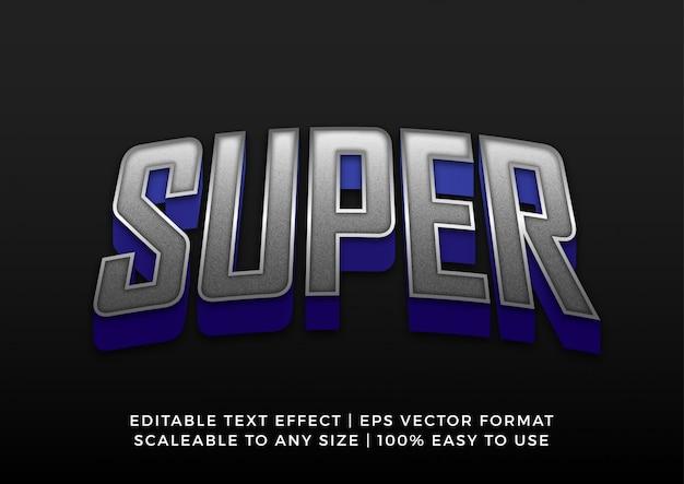 Mocny, pogrubiony tytuł tekst efekt gry