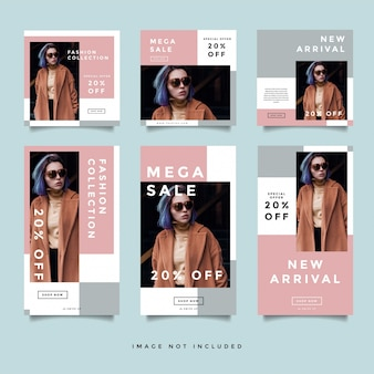 Moda baner społecznościowy